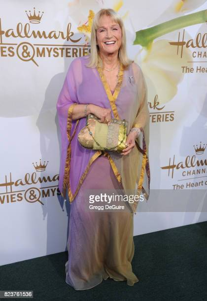 Diane Ladd arrives at the 2017 Summer TCA Tour Hallmark Channel And Hallmark Movies And Mysteries at a private residence on July 27 2017 in Beverly...
