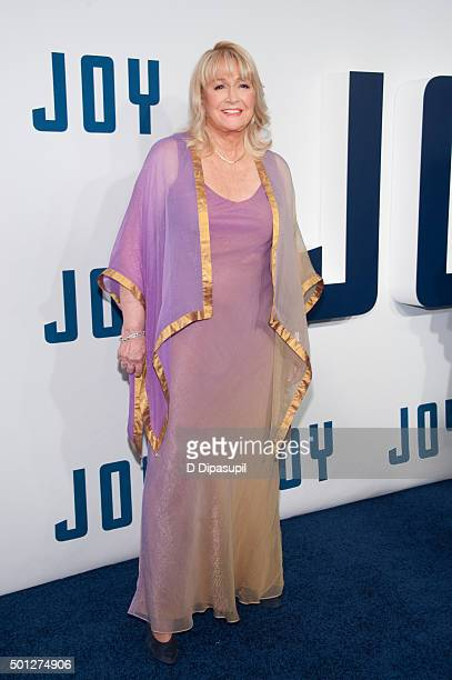 """Diane Ladd attends the """"Joy"""" New York premiere at the Ziegfeld Theater on December 13, 2015 in New York City."""