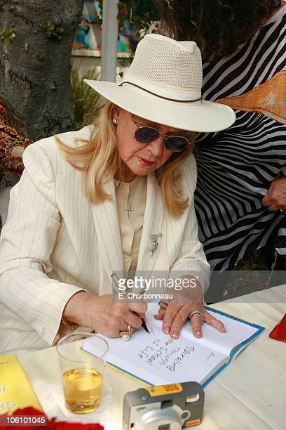 Diane Ladd during Book Party for Diane Ladd's Spiraling Through the School of Life at Connie Stevens Residence in Los Angeles CA United States
