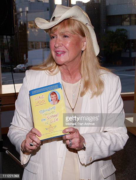 """Diane Ladd during Diane Ladd Signs Her New Book """"Spiraling Through The School of Life"""" at Borders in Westwood - May 25, 2006 at Borders Books in..."""
