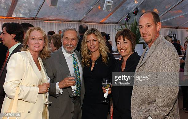 Diane Ladd Mark Rydell Leilani Ferrer Mrs Rydell and Miguel Ferrer