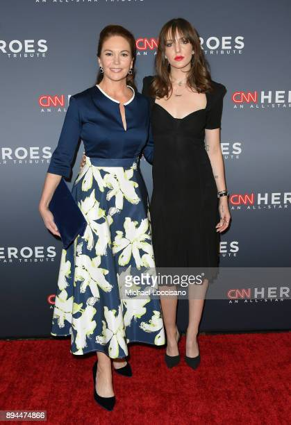 Diane Lane and Eleanor Lambert attend CNN Heroes 2017 at the American Museum of Natural History on December 17 2017 in New York City 27437_017