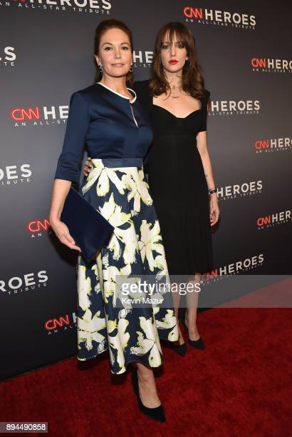 Diane Lane and Eleanor Lambert attend CNN Heroes 2017 at the American Museum of Natural History on December 17 2017 in New York City 27437_015