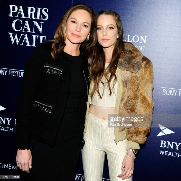 Diane Lane and Eleanor Lambert attend The Cinema Society BNY Mellon host a screening of Sony Pictures Classics' Paris Can Wait at Landmark Sunshine...