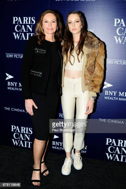 Diane Lane and Eleanor Lambert attend The Cinema Society BNY Mellon host a screening of Sony Pictures Classics' 'Paris Can Wait' at Landmark Sunshine...