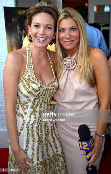 Diane Lane and Gina Glickman during Focus Features Presents A Special Screening Of HOLLYWOODLAND July 30 2006 at United Artists Theatre in...