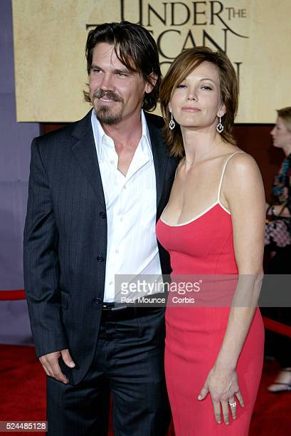 Diane Lane and Josh Brolin arrive at the world premiere of Under the Tuscan Sun at the El Capitan Theater