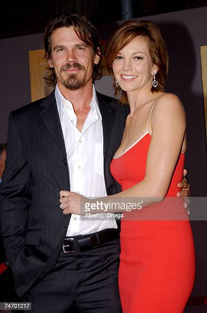 Diane Lane and Josh Brolin at the The El Capitan Theater in Hollywood California