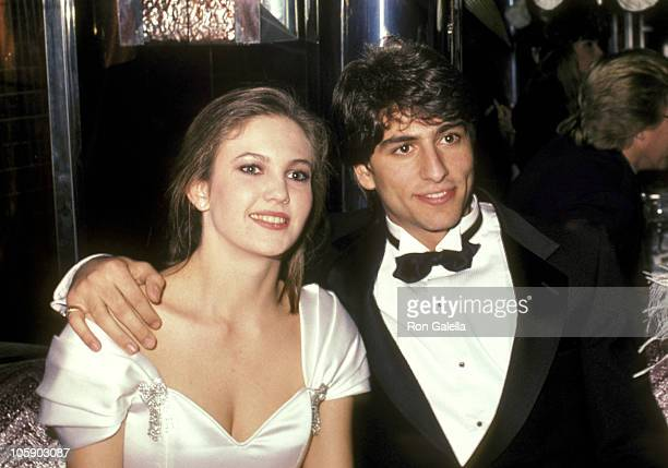 Diane Lane and Vincent Spano during The Cotton Club Cocktail Premiere Party at Gracie Mansion in New York City New York United States