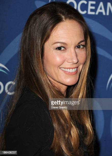 Diane Lane arrives at the Oceana Partners Award Gala With Former Secretary Of State Hillary Rodham Clinton and HBO CEO Richard Pleple at Regent...