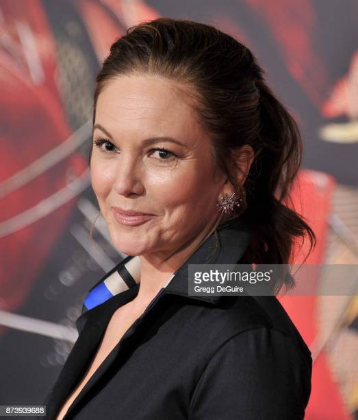 Diane Lane arrives at the premiere of Warner Bros Pictures' 'Justice League' at Dolby Theatre on November 13 2017 in Hollywood California