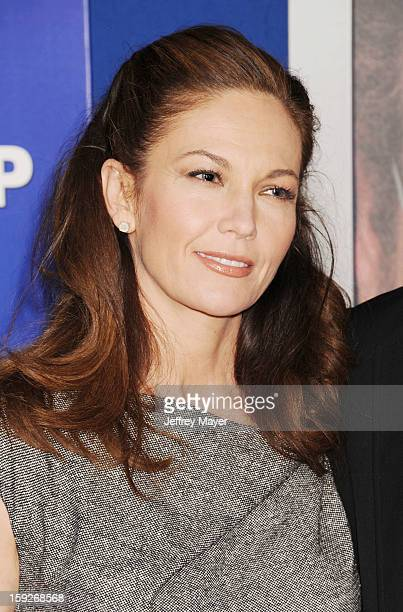 Diane Lane arrives at the 'The Guilt Trip' Los Angeles Premiere at Regency Village Theatre on December 11 2012 in Westwood California