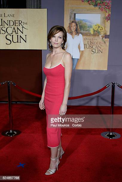 Diane Lane arrives at the world premiere of Under the Tuscan Sun at the El Capitan Theater