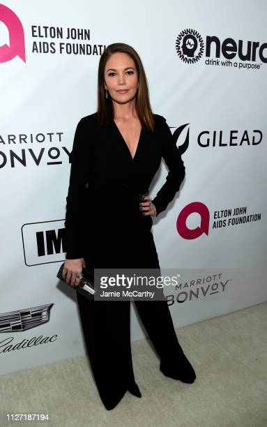 Diane Lane attends the 27th annual Elton John AIDS Foundation Academy Awards Viewing Party sponsored by IMDb and Neuro Drinks celebrating EJAF and...