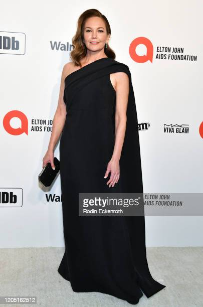 Diane Lane attends the 28th Annual Elton John AIDS Foundation Academy Awards Viewing Party Sponsored By IMDb And Neuro Drinks on February 09, 2020 in...