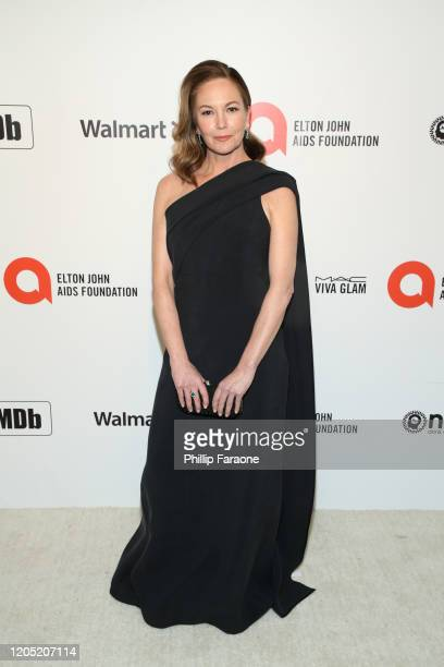 Diane Lane attends the 28th Annual Elton John AIDS Foundation Academy Awards Viewing Party Sponsored By IMDb, Neuro Drinks And Walmart on February...