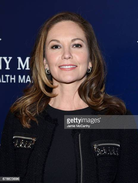 Diane Lane attends The Cinema Society Hosts A Screening Of Sony Pictures Classics' 'Paris Can Wait' at Landmark Sunshine Cinema on May 4 2017 in New...