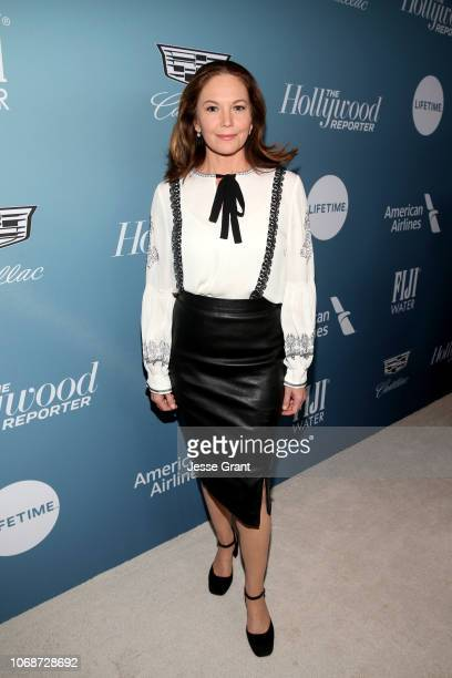 Diane Lane attends The Hollywood Reporter's Power 100 Women In Entertainment at Milk Studios on December 5, 2018 in Los Angeles, California.