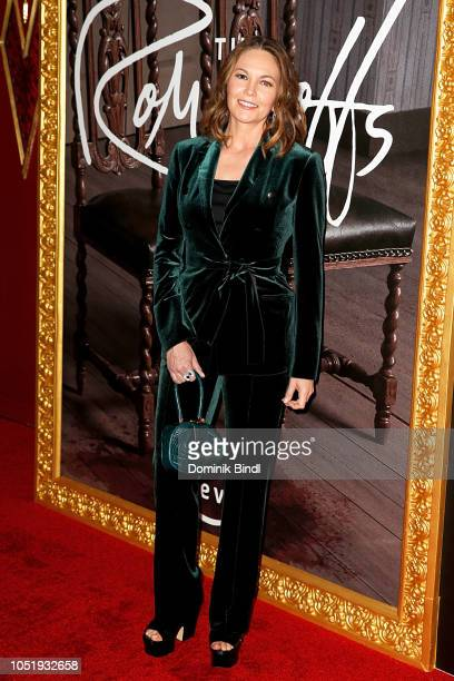 Diane Lane attends the premiere of the Amazon Prime Video web TV series 'The Romanoffs' at the Russian Tea Room on October 11 2018 in New York City