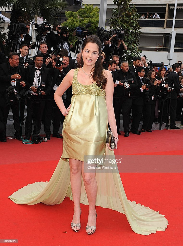 Diane Lane attends the 'You Will Meet A Tall Dark Stranger' premiere at the Palais des Festivals during the 63rd Annual Cannes Film Festivalon May 15, 2010 in Cannes, France.