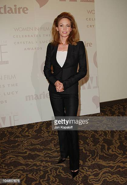 Diane Lane during 2003 Women In Film Crystal Lucy Awards at Century Plaza Hotel in Century City California United States
