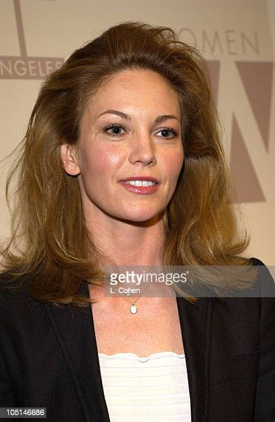 Diane Lane during 2003 Women In Film Crystal + Lucy Awards - Show at Century Plaza Hotel in Los Angeles, California, United States.