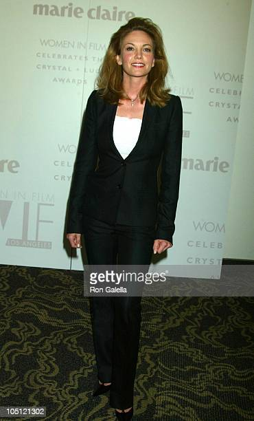 Diane Lane during 2003 Women In Film Crystal Lucy Awards Sponsored by Marie Claire Arrivals at Century Plaza Hotel in Century City California United...