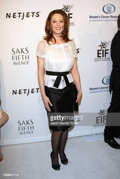 Diane Lane during Saks Fifth Avenue's Unforgettable Evening Benefit for EIF's Women's Cancer Research Fund Arrivals at Regent Bevery Wilshire Hotel...