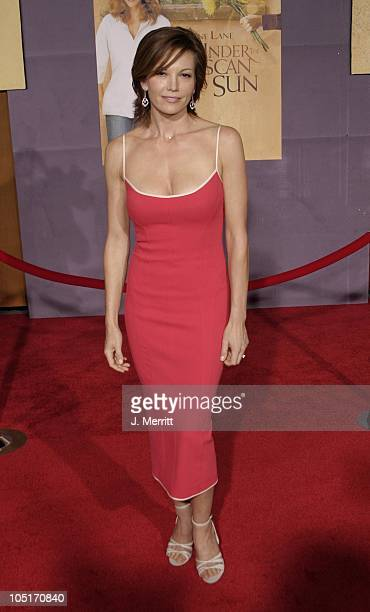 Diane Lane during Under The Tuscan Sun Hollywood Premiere at El Capitan Theatre in Hollywood California United States