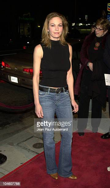 Diane Lane during 'Y Tu Mama Tambien' Premiere at Regent Showcase Theatre in Hollywood California United States