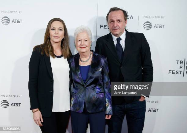 """Diane Lane, Eleanor Coppola and Arnaud Viard attends """"Paris Can Wait"""" during the 2017 Tribeca Film Festival at BMCC Tribeca PAC on April 25, 2017 in..."""