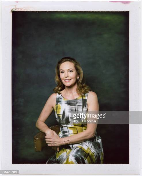 Diane Lane from the film Mark Felt The Man Who Brought Down the White House is photographed on polaroid film at the LA Times HQ at the 42nd Toronto...