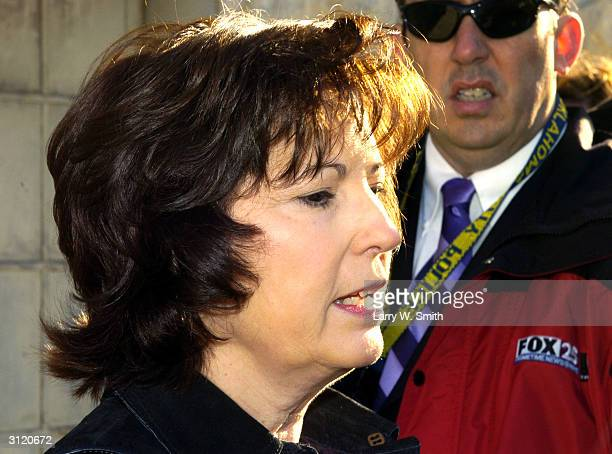 Diane Leonard whose husband a federal agent killed in the April 19 1995 bombing of the Alfred P Murrah Federal Building in Oklahoma City Oklahoma...
