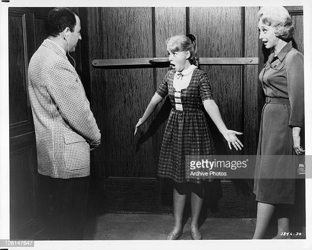 Diane Mountford auditioning for an agent in a scene from the film 'Doctor You've Got To Be Kidding' 1967