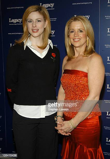 Diane Neal and Jane Hanson during 2nd Annual American Legacy Foundation Honors Gala at Cipriani's in New York City New York United States