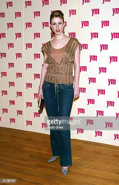 Diane Neal arrives at the 5th Annual YM MTV Issue party at Spirit March 24 2004 in New York City