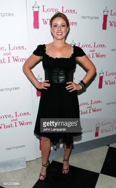 Diane Neal attends the 'Love Loss And What I Wore' new cast member celebration at 44 1/2 on May 27 2010 in New York City