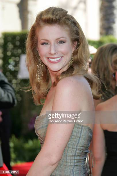 Diane Neal during 58th Annual Primetime Emmy Awards Arrivals at Shrine Auditorium in Los Angeles California United States