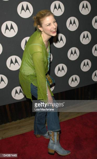 Diane Neal during Maria Sharapova's 18th Birthday Celebration Hosted by Motorola at Hiro Ballroom in New York City New York United States