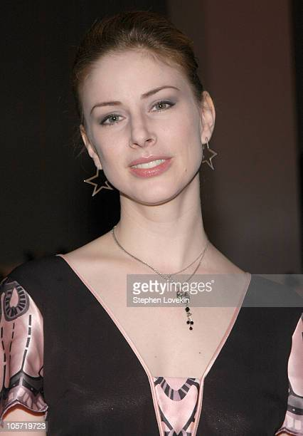 Diane Neal during Olympus Fashion Week Fall 2005 Baby Phat Arrivals at Skylight Studio in New York City New York United States