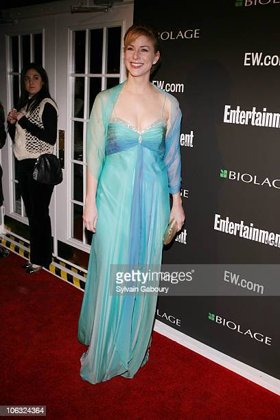 Diane Neal during The 78th Annual Academy Awards Entertainment Weekly New York Viewing Party at Elaine's in New York New York United States