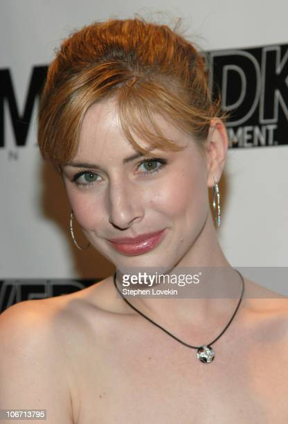 Diane Neal during The Gersh Agency Celebrates New York Upfronts with LA Confidential Hamptons and Gotham Magazines at Quo in New York City New York...