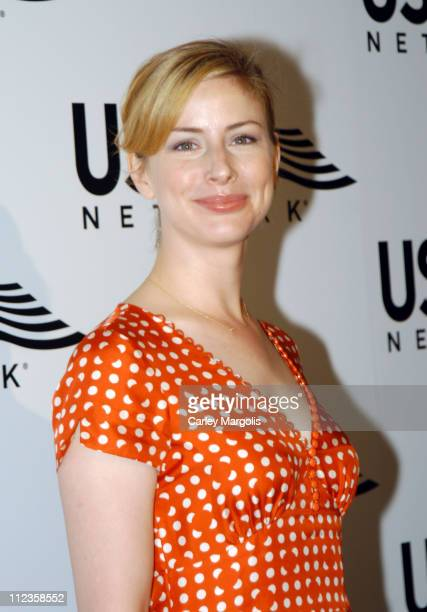 Diane Neal during USA Network Celebrates the Opening of the 2004 US Open at ACES Restaurant at Arthur Ashe Stadium in New York City New York United...