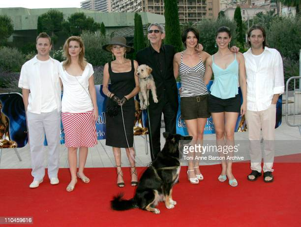 Diane Neal Richard Belzer and Wife Alana de la Garza and Milena Govich