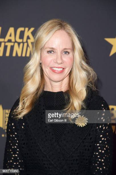 Diane Nelson attends the 'Black Lightning' World Premiere at National Museum Of African American History Culture on January 13 2018 in Washington DC