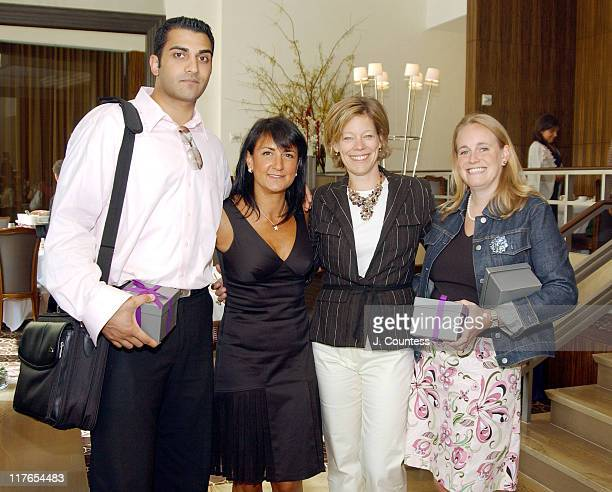 Diane Newman senior vice president/group publisher of Shape Magazine and guests