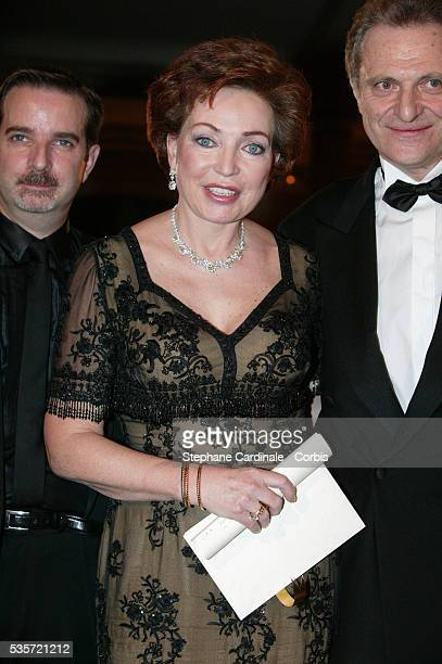 HRH Diane of Wurttemberg attends the gala evening
