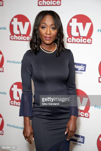 Diane Parish arrives for the TV Choice Awards at The Dorchester on September 4 2017 in London England