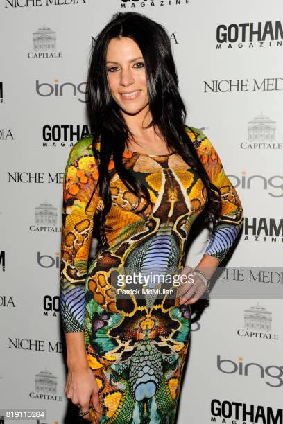Diane Passage attends ALICIA KEYS Hosts GOTHAM MAGAZINES Annual Gala Presented by BING at Capitale on March 15 2010 in New York City