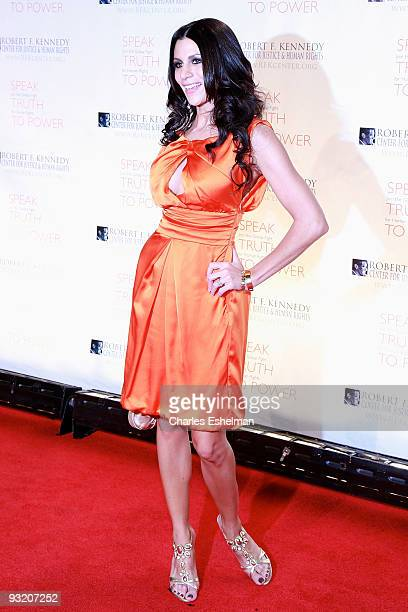 Diane Passage attends the RFK Center Ripple of Hope Awards dinner at Pier Sixty at Chelsea Piers on November 18 2009 in New York City